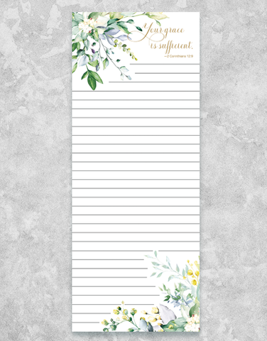 Your Grace Chunky List Pad