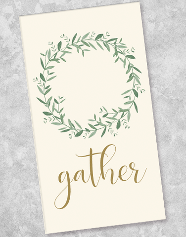 Gather Guest Towel Napkins (36 Count)