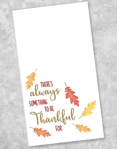 Always Thankful Guest Towel Napkins (36 Count)