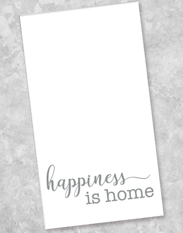 Happiness is Home Guest Towel Napkins (36 Count)