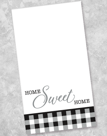 Sweet Home Gingham Guest Towel Napkins (36 Count)