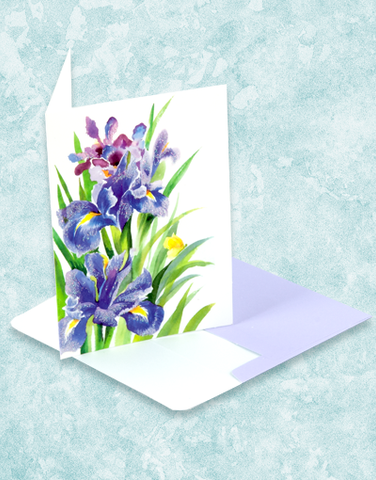 Iris Beauty Note Cards