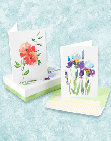 Graceful Garden Deluxe Note Card Set