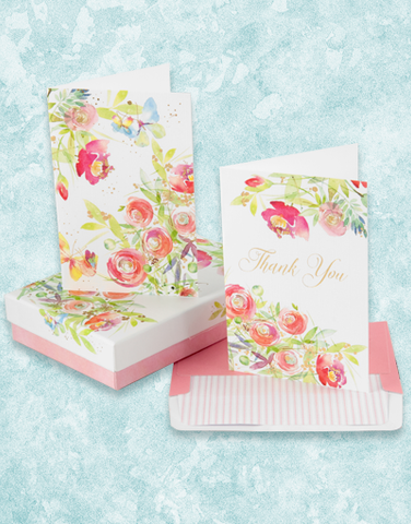 Charming Blooms Deluxe Note Card Set