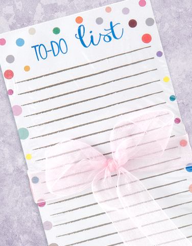 To Do List Dots Shopping List Pads