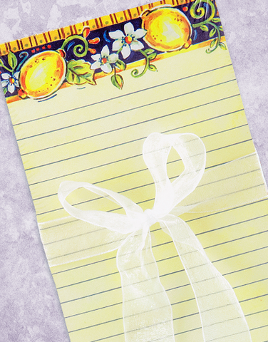 Limone Shopping List Pads