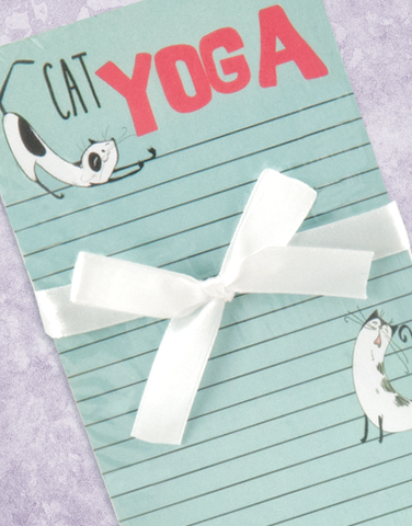 Cat Yoga Shopping List Pads