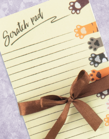 Scratch Pad Shopping List Pads
