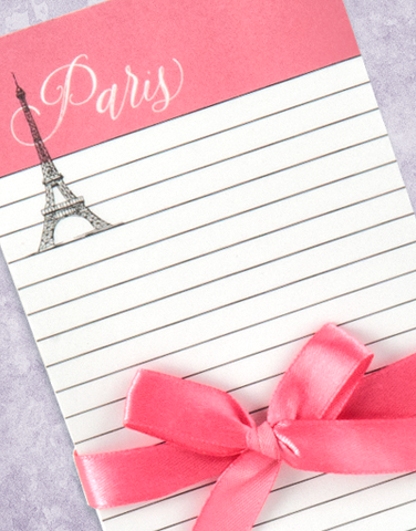 Paris A Good Idea Shopping List Pads