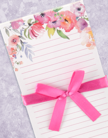 Spring Garden Shopping List Pads