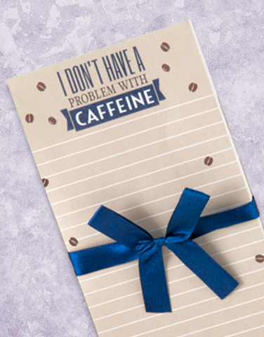 Caffeine Problem Shopping List Pads