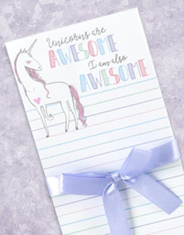 I Am A Unicorn Shopping List Pads