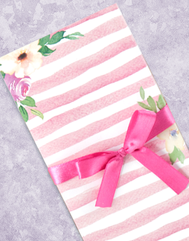 Pretty In Stripes Shopping List Pads