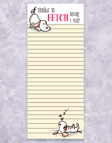 Fetch Shopping List Pads