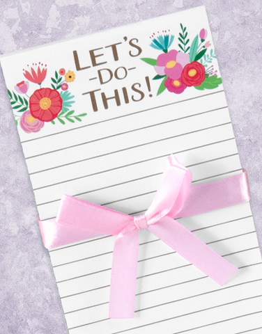 Let's Do This Shopping List Pads