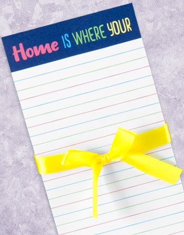 Home WiFi Shopping List Pads
