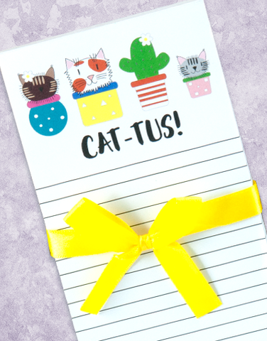 Cat-Tus Shopping List Pads
