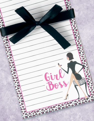 Girl Boss Shopping List Pads
