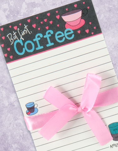 Coffee First Shopping List Pads