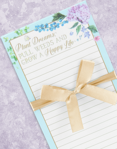 Happy Garden Shopping List Pads