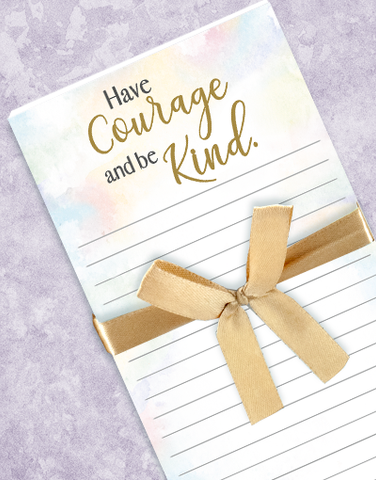 Have Courage Shopping List Pads