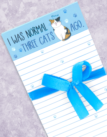 Three Cats Ago Shopping List Pads