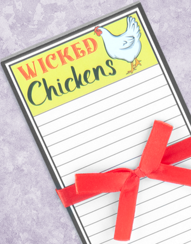 Deviled Eggs Shopping List Pads