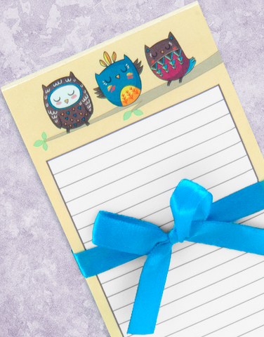 Owl You Need Shopping List Pads