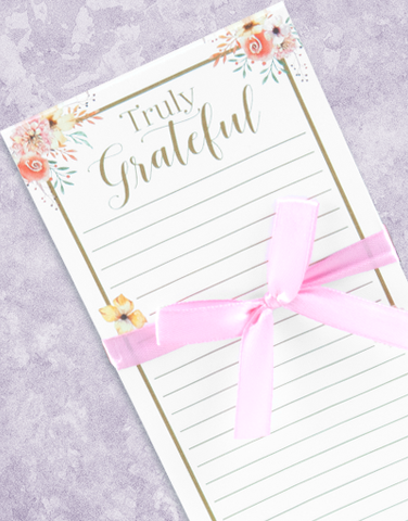 Grateful Truth Shopping List Pads