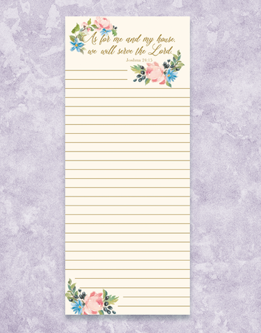 As For Me Shopping List Pads