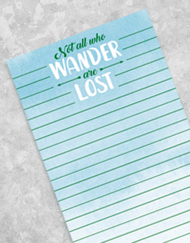 Wander Shopping List Pads
