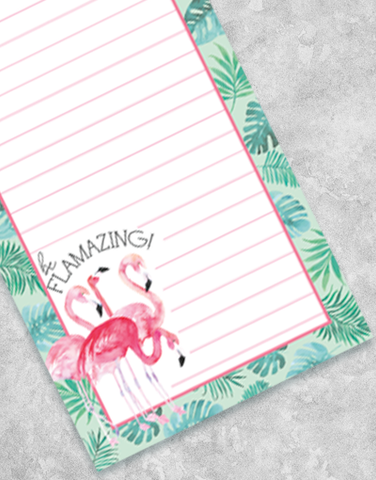 Tropical Flock Shopping List Pads