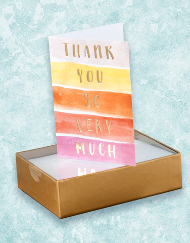 So Very Much Thank You Note Cards