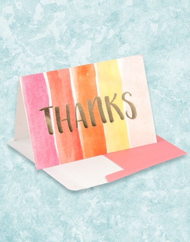 Big Thanks Note Cards