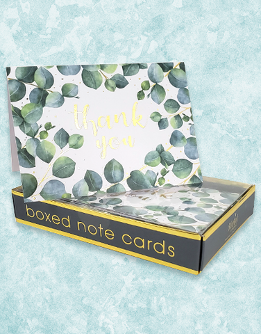 Eucalyptus Thanks Note Cards