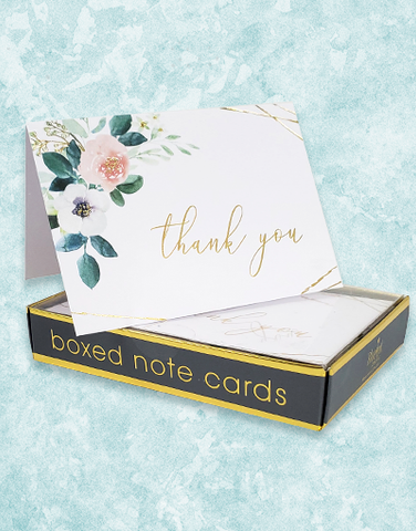 Elegant Breeze Note Cards
