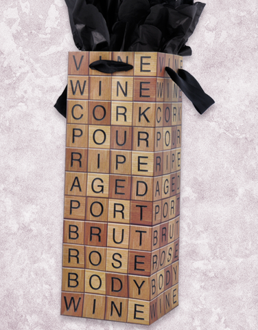 Wine With Friends Wine Bags