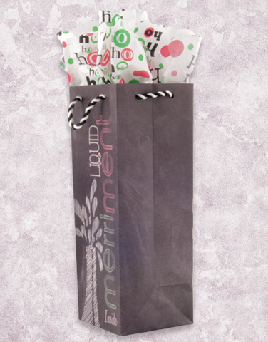 Liquid Merriment Wine Bags