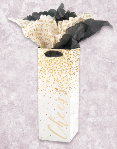 Confetti Cheers Wine Bags
