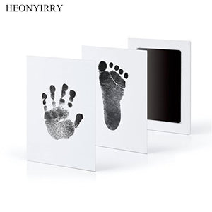 Baby Care Non-Toxic Baby Handprint Footprint Imprint Kit