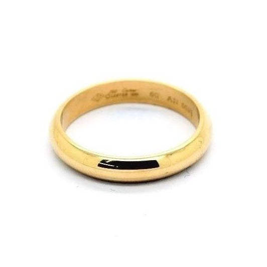 Cartier Wedding Band.Cartier Classic Wedding Band 18k Yellow Gold Retail 1110 Authentic