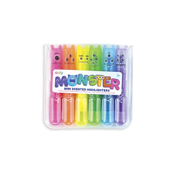 Mini Monster Scented Highlighters