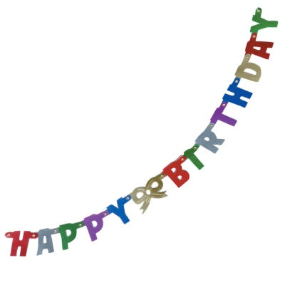 Itty Bitty Happy Birthday Banner