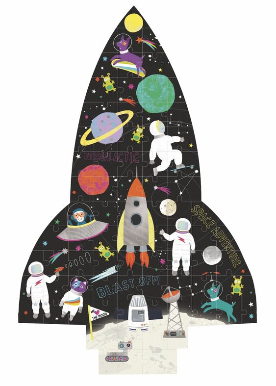 Outer Space Jigsaw Puzzle - 80 pcs