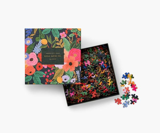 Garden Party Jigsaw Puzzle 500 pc