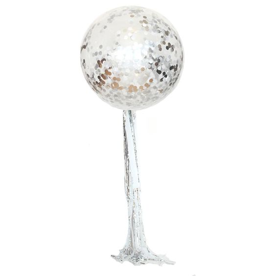 Disco Ball Balloon Streamer Kit