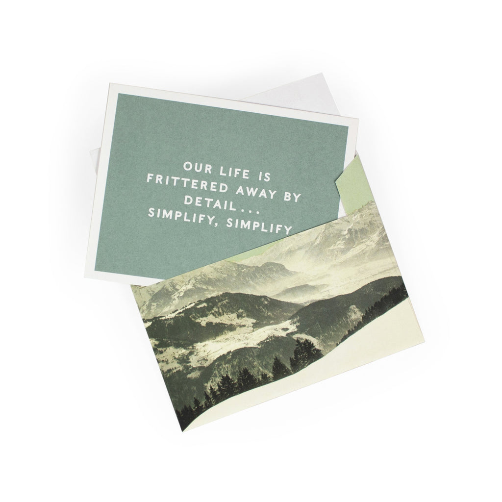 Thoreau Notecards