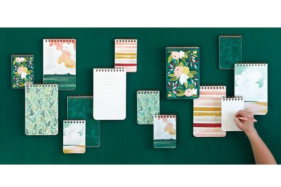 Mint Meadow Notebook