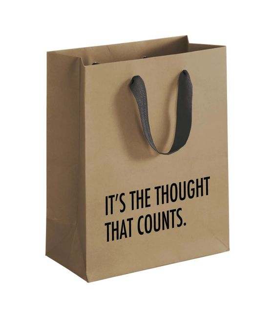 Thought Counts Gift Bag