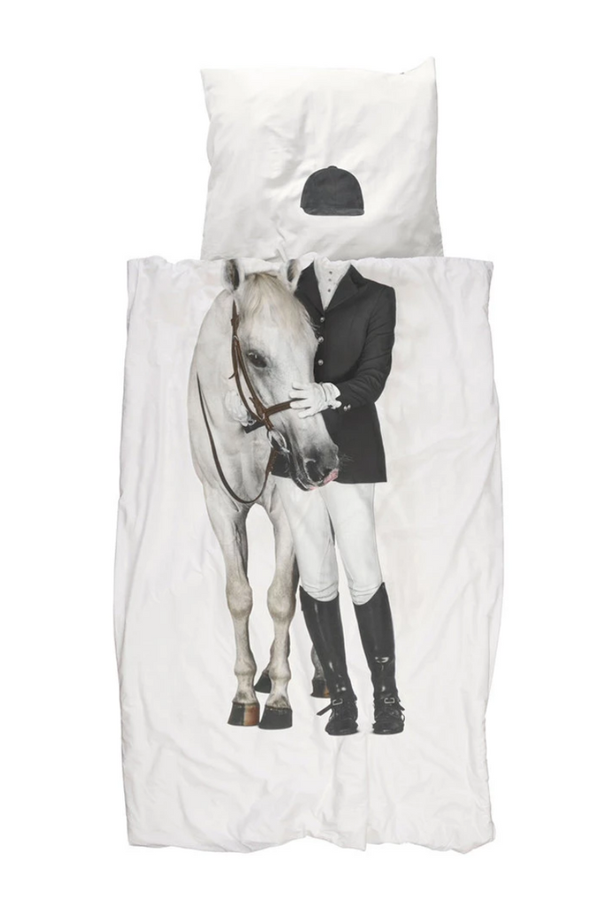 Equestrian Duvet Cover Set - Snurk Bedding